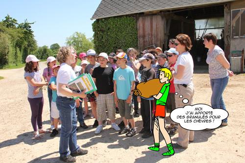 visiter la ferme de la bretonnerie EARL PETIT PERCHE