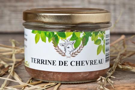 TERRINE DE CHEVREAU 180 G